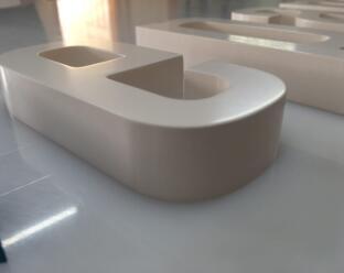 Flat Cut Letters 2
