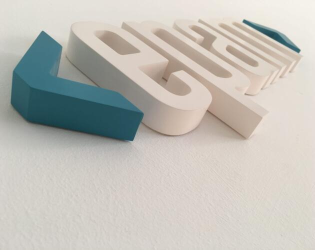 Flat Cut Letters 4